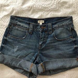 J Crew Jeans Shorts